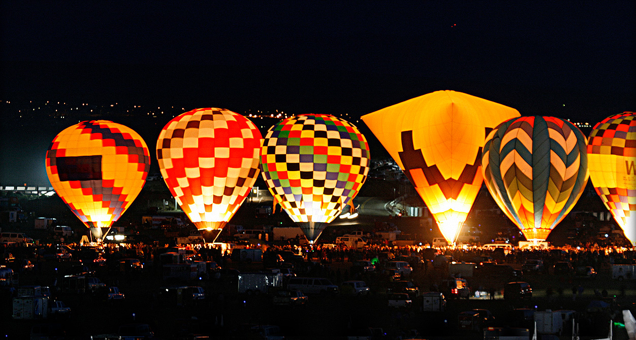 Hot Air Balloons - Nancy & Michael Carlisle